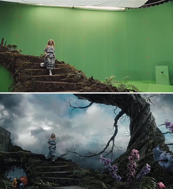 Alice-In-Wonderland-movie-greenscreen