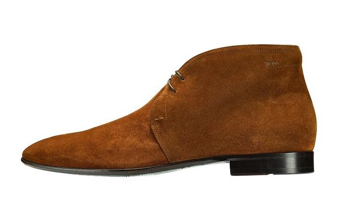 BOSS為德國世足隊訂製西裝(麂皮鞋)