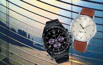 agnès b.2014年全新春夏錶款【左:BW8004P1  右:BG4006P1】