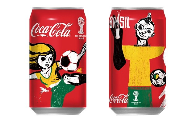 「可口可樂」2014 FIFA限量紀念罐 1