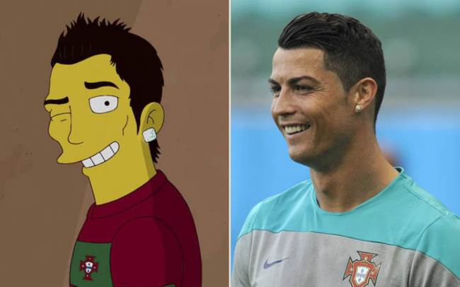 Ronaldo and Simpson's Ronaldo