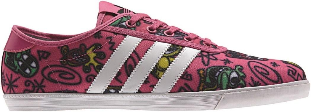adidas Originals x Jeremy Scott Kenny Scharf 聯名單帆布鞋 NTD3,890_M18994