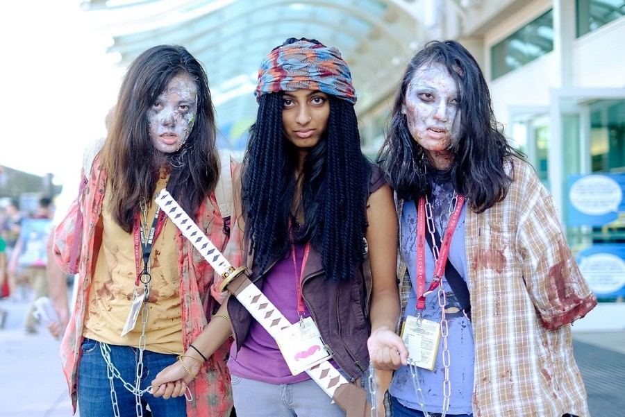 Annual Comic-Con Convention Draws Costumed Crowds To San Diego