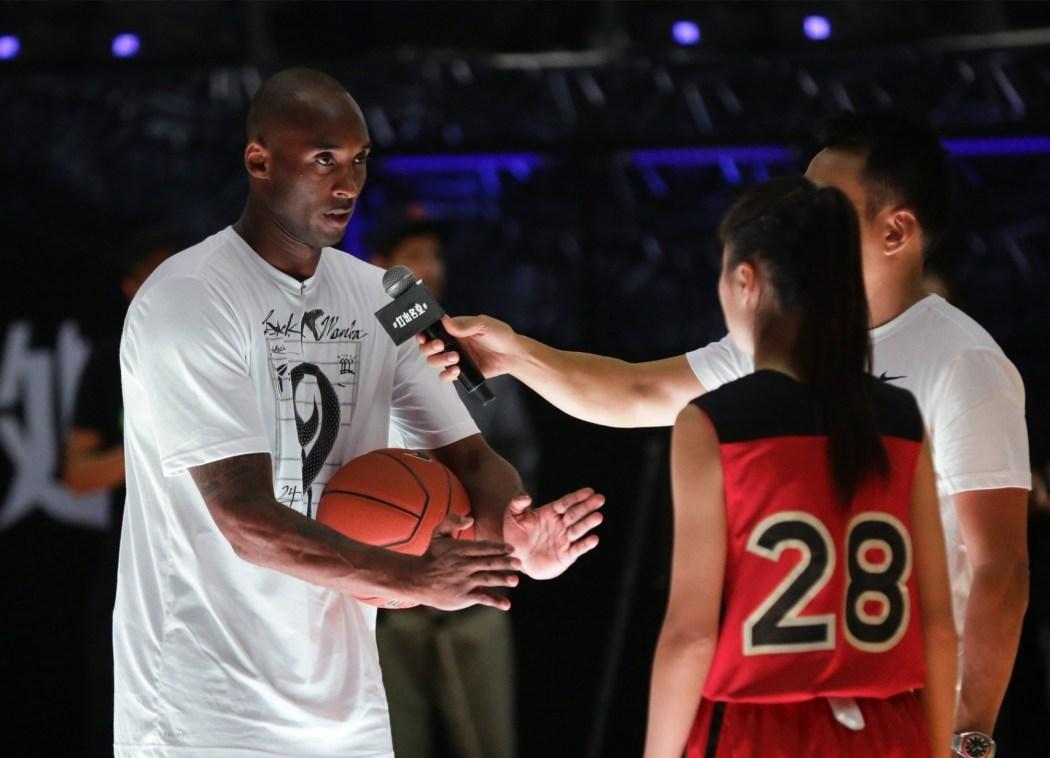 Kobe:想打出名堂,我認為最重要的是隨時準備迎接挑戰,當你戰勝挑戰或者走出逆境的時候,你將會感到激動與自豪