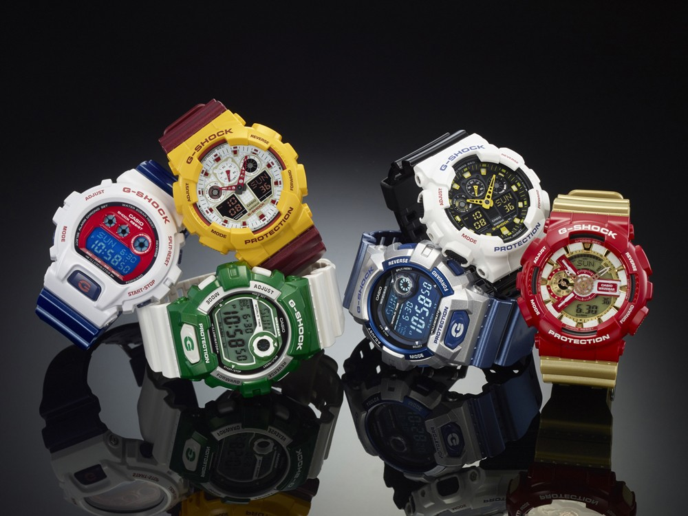 G-SHOCK CRAZY COLOR Series