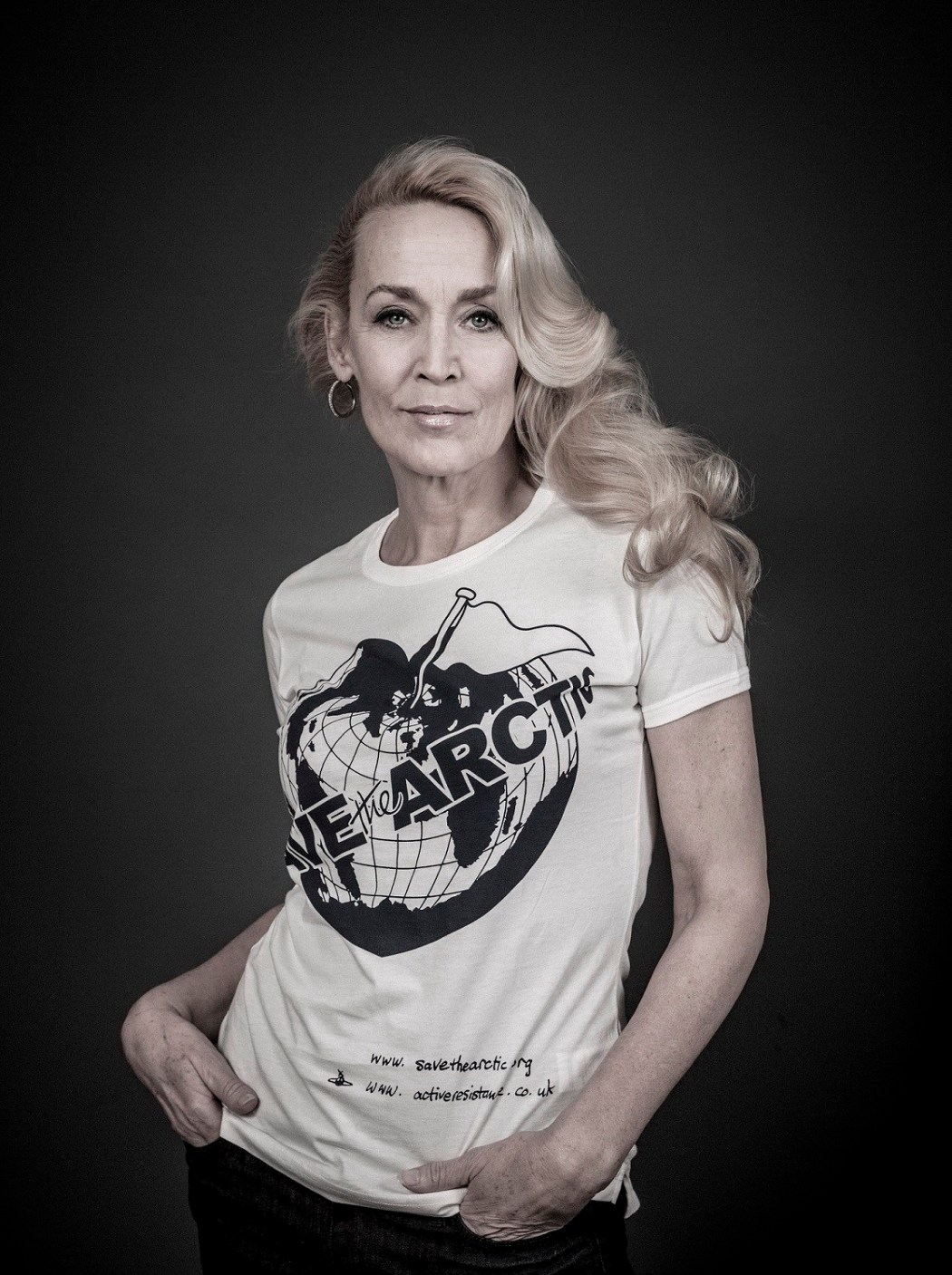 Vivienne Westwood Save the Arctic - jerry_hall