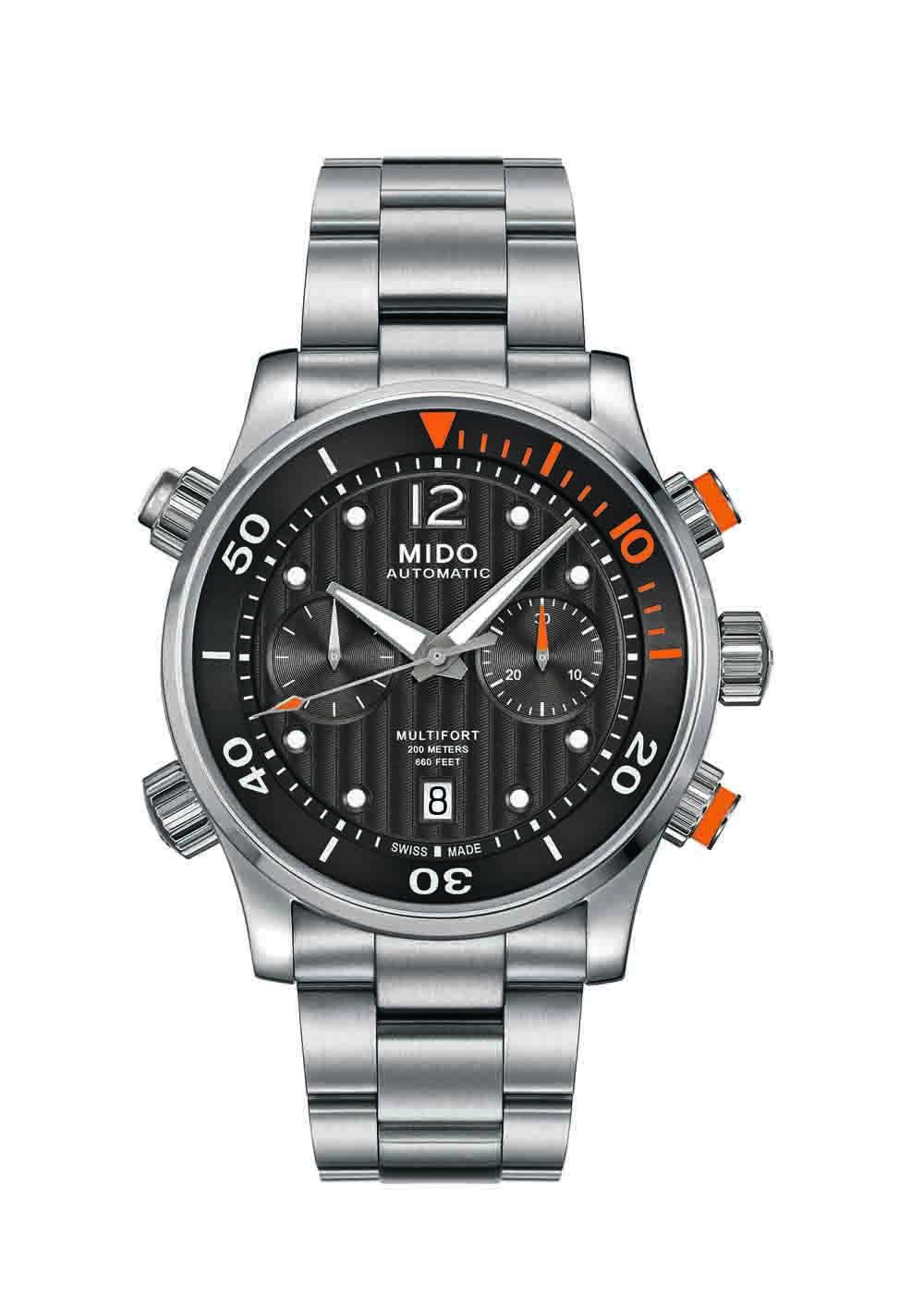 先鋒系列潛水計時腕錶 M005.914.11.060 建議售價NT$66700