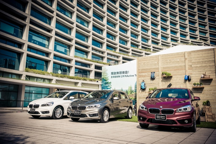 【新聞照片一】全新BMW 2系列Active Tourer正式在台上市