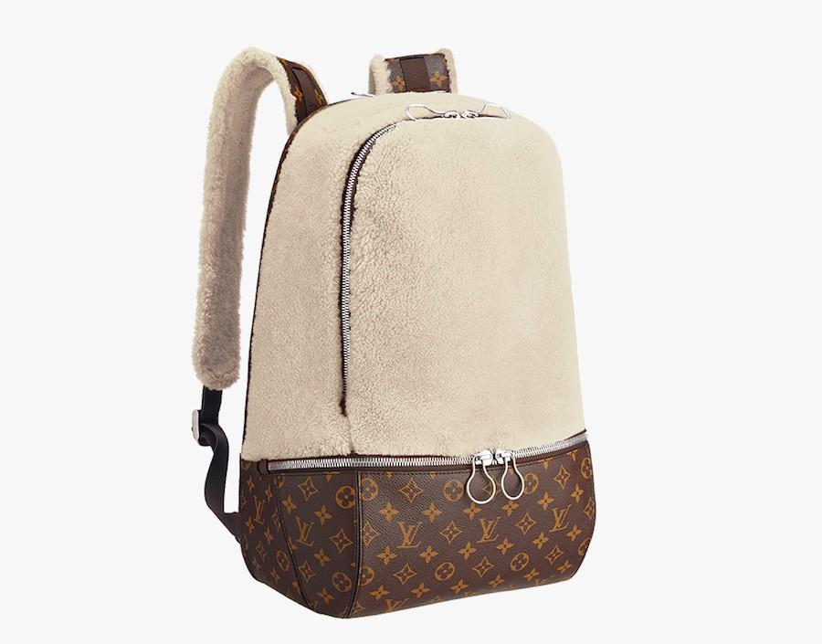 Louis-Vuitton-Marc-Newson-Fleece-Backpack-Ivory