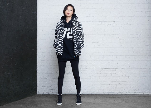 時尚女神全智賢成為adidas Originals最新形象代言人