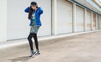 時尚天后范冰冰演繹adidas Originals最新女裝形象照