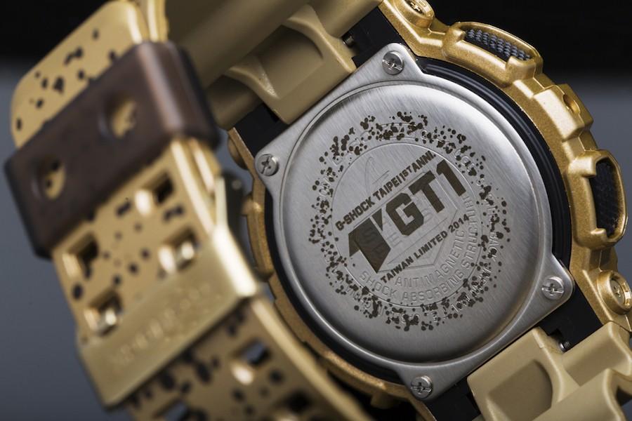 G-SHOCK STORE, TAIPEI一周年限量錶款_背蓋印刷