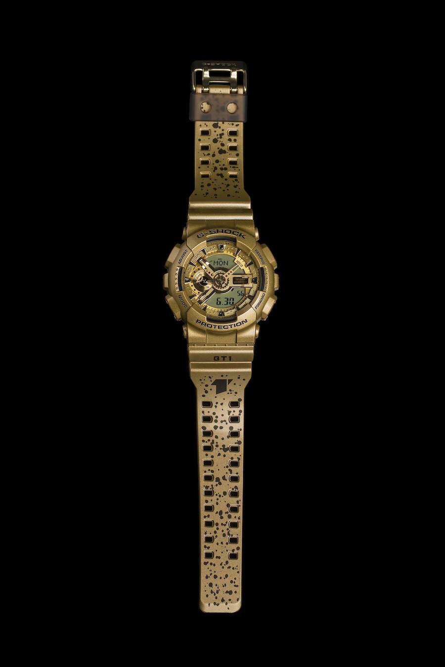 G-SHOCK STORE, TAIPEI一周年限量錶款_攤平圖