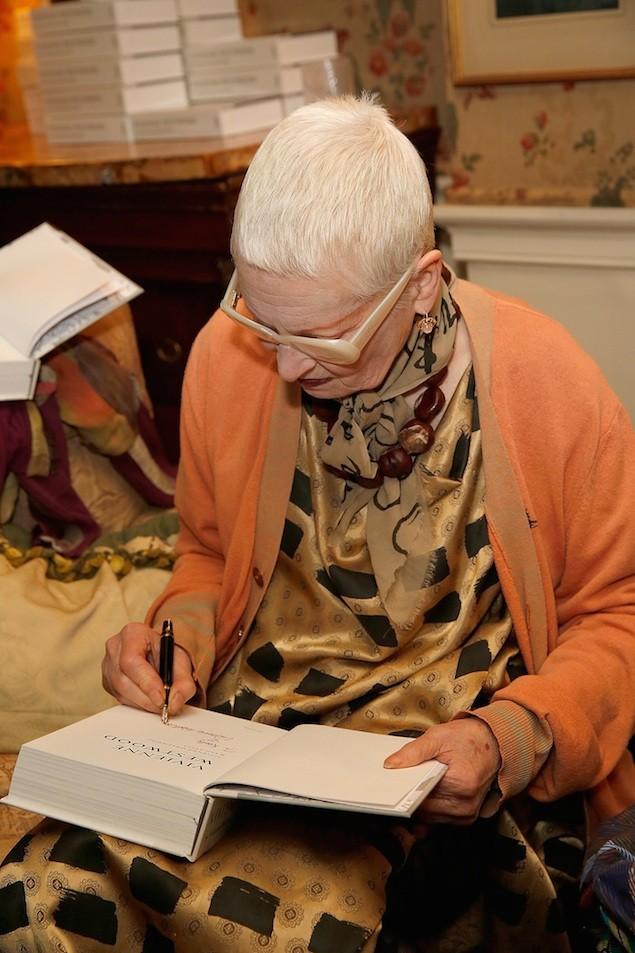 Launch Of Vivienne Westwood Autobiography