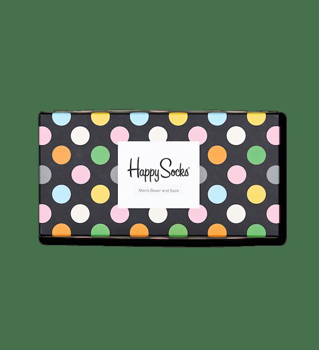 Happy Socks_14FW_Gift Pack_Socks & Underwear_俏皮圓點禮盒組_Men's Boxers_$1,380(正面)