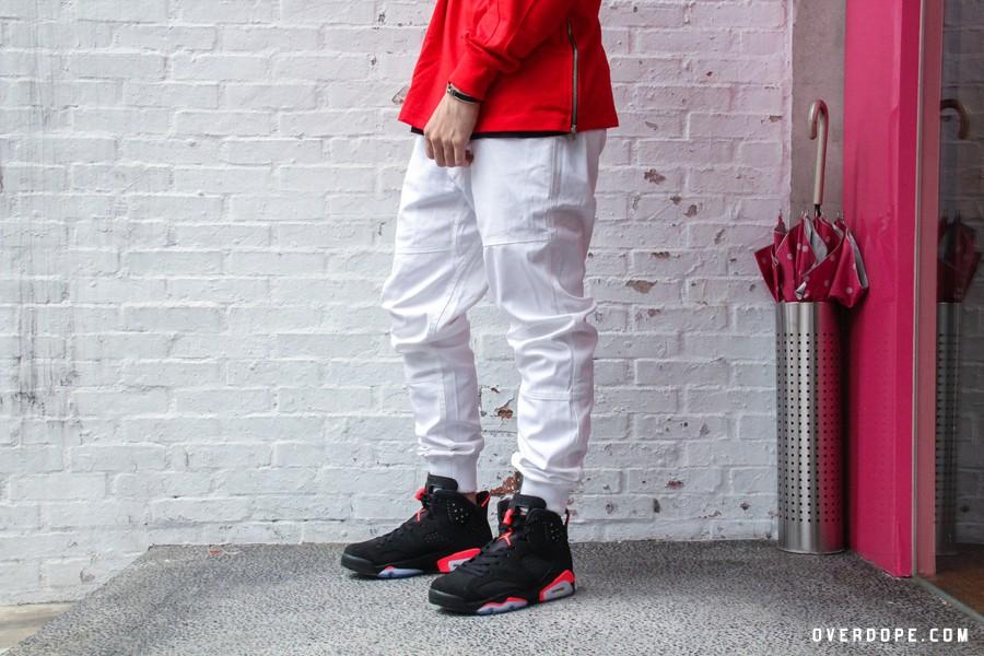 Shoes / Air Jordan VI Black/Infrared / NT6,300