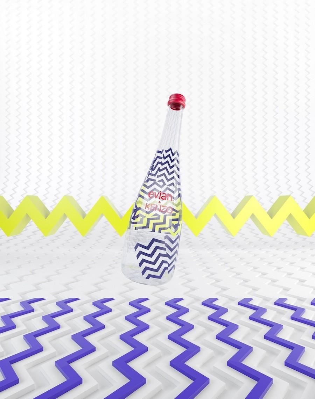 """KENZO 2014秋冬高級成衣系列獨一無二的視覺圖案-重組並隨意拼接的幾何裂紋分享給同樣""""玩心未泯""""的evianR,成為evianR  x K..._1"""