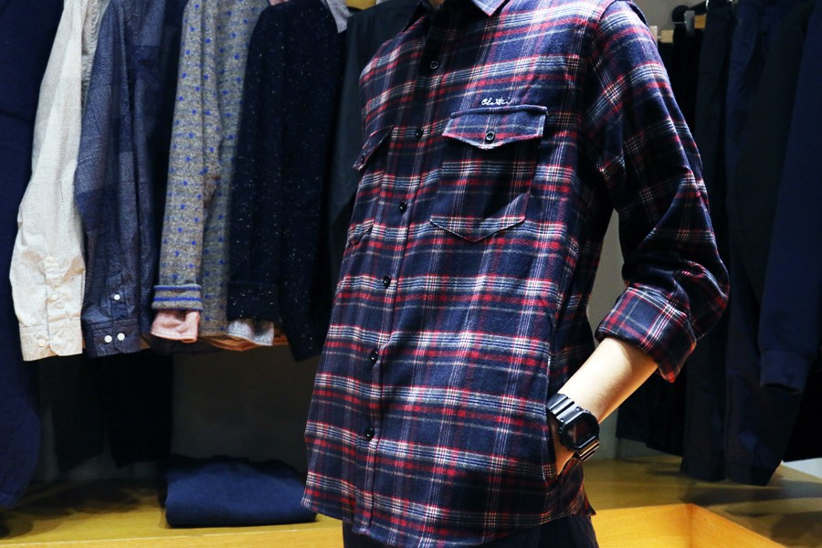 Shirts / CLOTTEE PLAID FLANNEL SHIRT / NT.$2,780