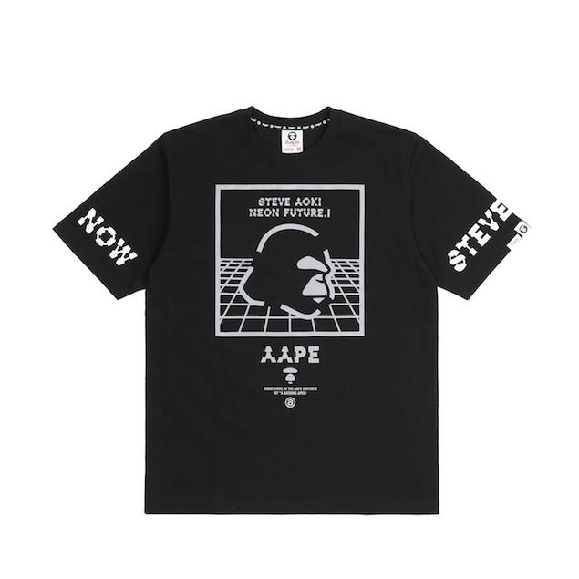 AAPE x Steve Aoki Tee ( Front)