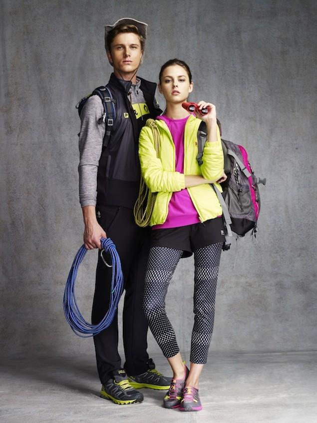 01_FILA OUTDOOR系列 以斑斕色彩搭配輕量保暖素材 時尚、保暖、輕量兼具 打造全新Smart layer登山穿搭概念