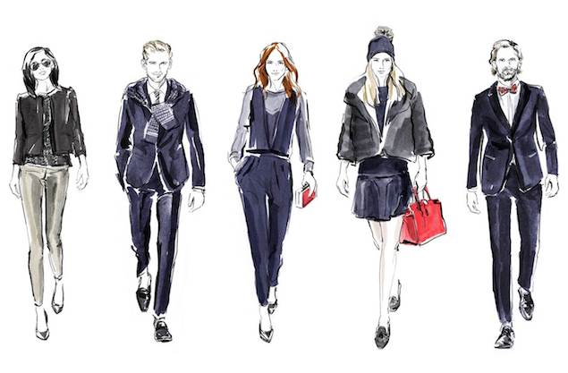 TOMMY HILFIGER Holiday Sketch