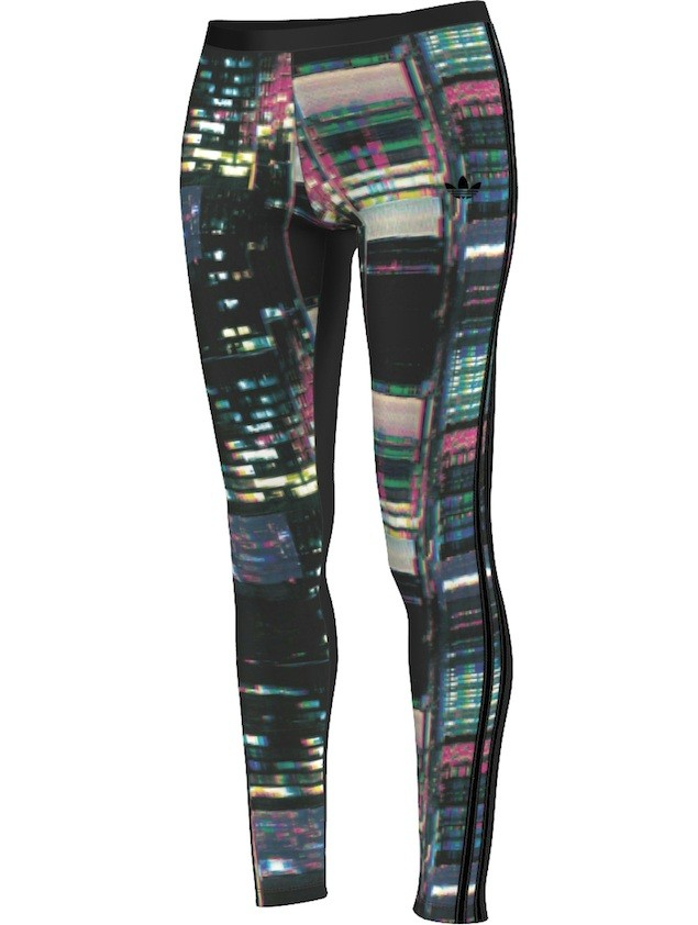 adidas Originals 環遊世界系列-東京霓虹Leggings NTD1490