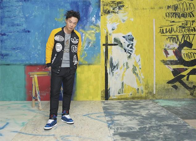 Eason陳奕迅帥氣詮釋adidas Originals都市叢林時尚
