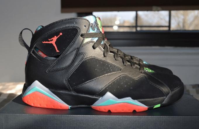 "Air Jordan 7 Retro ""Marvin the Martian"" @  March 7, 2015"