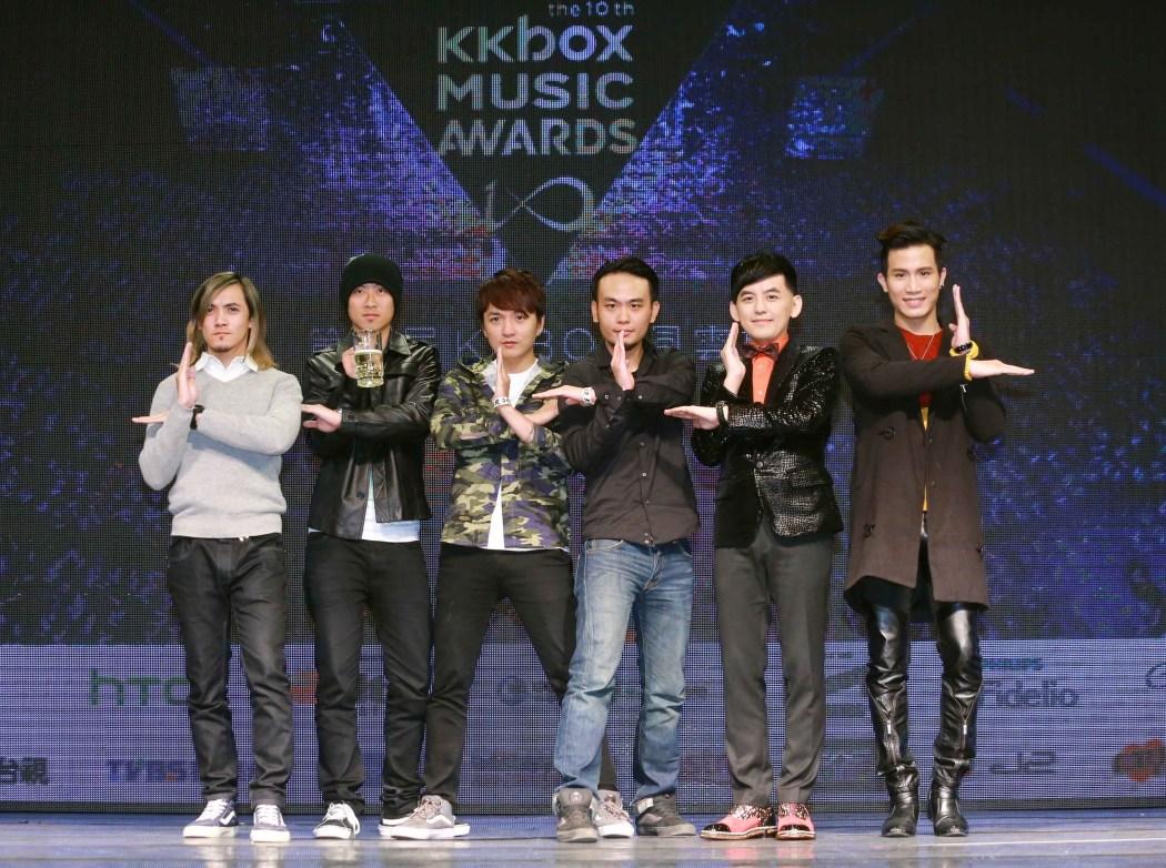 KKBOX風雲榜正式邁入第十屆,即將於2月8日晚間七點在小巨蛋熱烈開唱