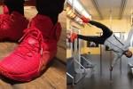 """Nike LeBron 12 """"Red/Gold"""" PE"""