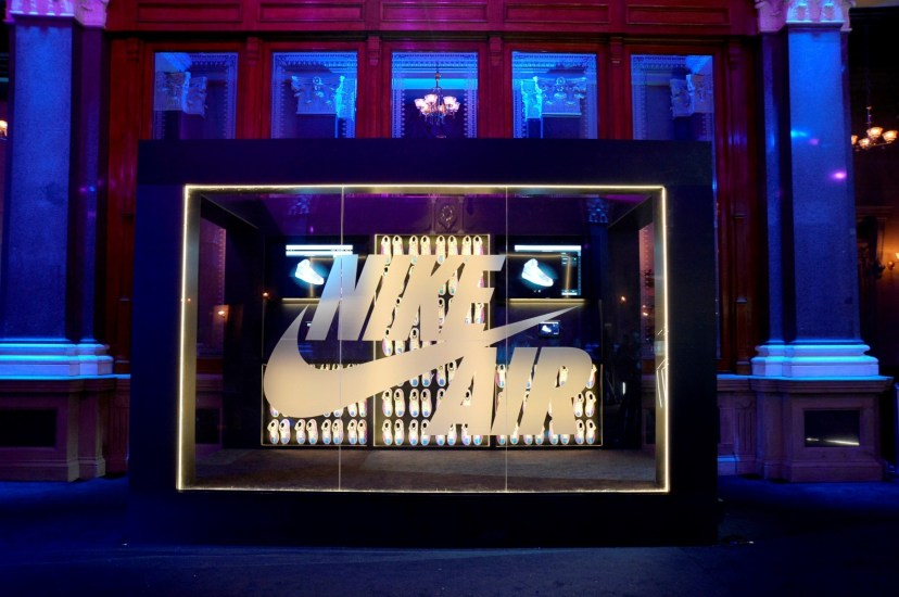 Nike Inside Access Studio Panel透過不同的展品及Nike設計師和運動員的分享,展現出Nike的球鞋文化和歷史