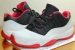 "Air Jordan 11 Low ""Black/White-Red""2012年"