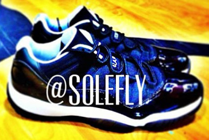 "Air Jordan 11 Low ""Tuxeto""2013年"