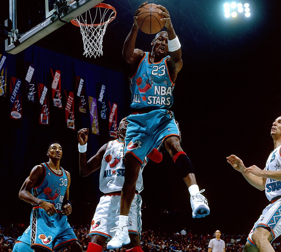 1996 All-Star Game Air Jordan XI 'Columbia'