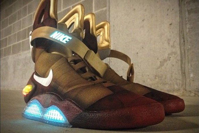 "Nike Air Mag""Iron Man"