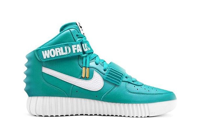 Supreme x Nike Air Force 1 x Nike Air Yeezy 2 x adidas Originals Yeezy 750 Boost -