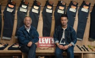 大坪洋介先生(左)與藤原裕先生(右)於LEVI'S東區概念旗艦店合影留念 3