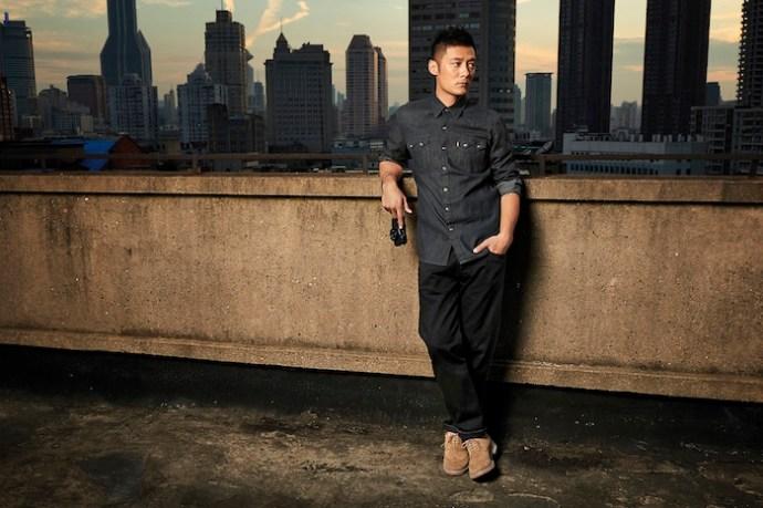 男性窄版丹寧襯衫與兩用格紋襯衫 展現過人輕薄帥氣