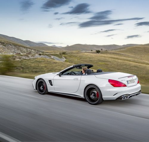 Mercedes AMG SL 63, DiamantweißMercedes-AMG SL 63, diamond white