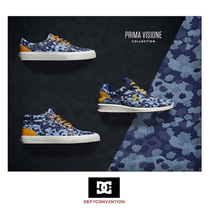 PRIMA VISIONE湖水藍休閒時尚系列