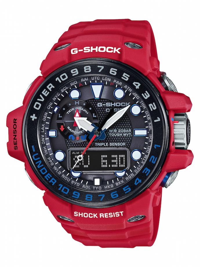 CASIO G-SHOCK GWN-1000RD-4A_建議售價NT$17,000