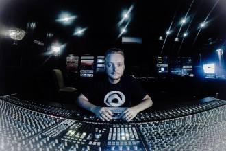 jc in the studio