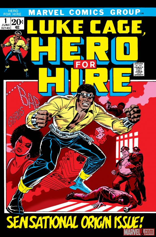 Luke Cage, Hero For Hire #1 (June 1972)