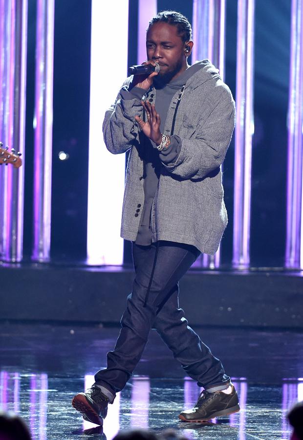 Mandatory Credit: Photo by Frank Micelotta/REX/Shutterstock (7449898cb) Kendrick Lamar American Music Awards, Show, Los Angeles, USA - 20 Nov 2016