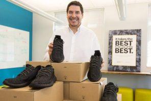老闆是鞋頭!竟用 YEEZY 獎勵當月業績最高的人