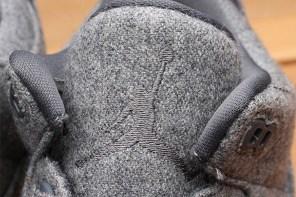 無疑會是秋冬保暖又實搭的鞋款,近覽 Air Jordan 3「Wool」!