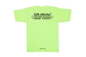 雙高端品牌 OFF-WHIT X 克羅心,設計的「16 Cities」穿上他每天你都是外國人