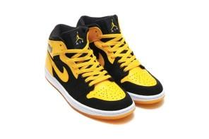 Jordan Brand 本來就打算在十年後把它帶回,黑黃 Jordan 1 Mid 老味依舊