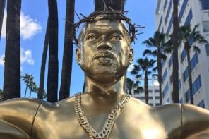你怎麼看?用耶穌形象去形容肯爺,洛杉磯藝術家對「上帝肯爺」有見解