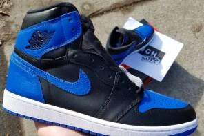 網路諜照不斷流出?!Air Jordan 1 終極「黑藍」倒數兩個月發售啦!